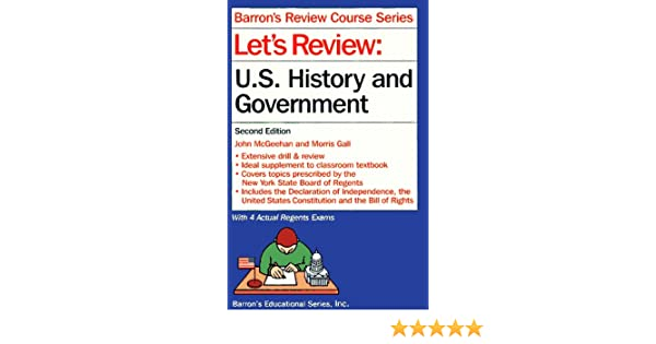 Let's Review U.S. History and Government (Let's Review Series) download