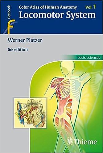 Color Atlas Of Human Anatomy Locomotor System Vol 1 9783135333069