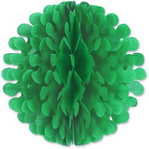 Beistle 1-Pack Tissue Flutter Ball, 14-Inch, Green
