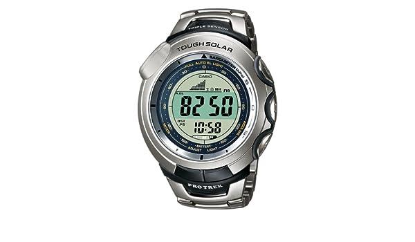 Casio PRG-120T-7VER - Reloj (Resina, Titanio, Mineral): Amazon.es: Relojes