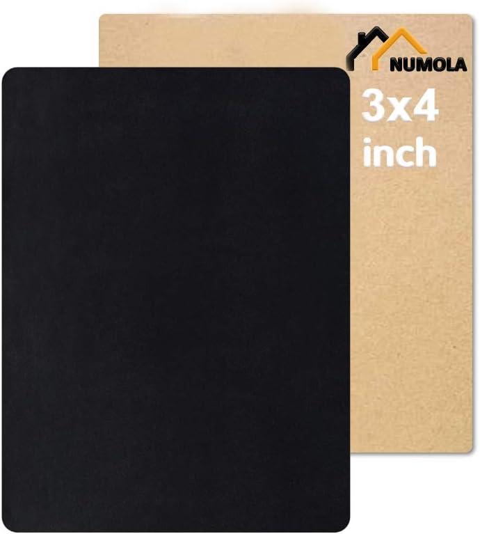 Parche adhesivo para reparar muebles cuero negro  7.5x10 cm
