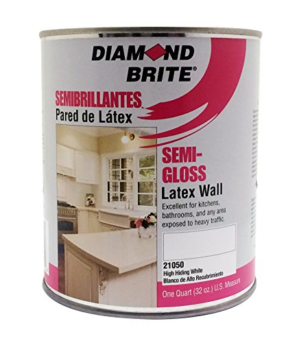 Diamond Brite Paint 21050 1 Quart Semi Gloss Latex Paint
