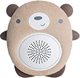 SoundBub, White Noise Machine and Bluetooth Speaker | Portable and Rechargeable On-the-Go Infant Shusher & Baby Sleep Aid Sound Soother by WavHello – Benji the Bear, Brown