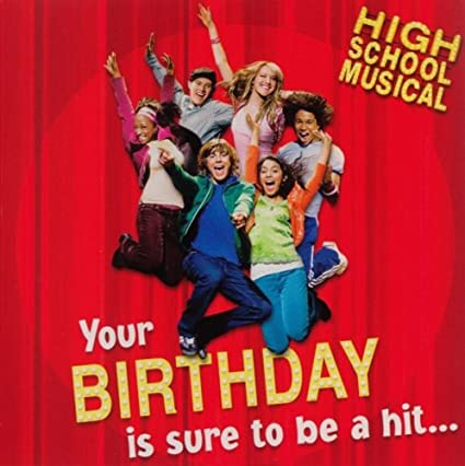 Amazon High School Musical Breaking Free Musical Birthday
