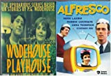 Wodehouse Playhouse, Series 1 As Seen on BBC , Alfresco Starring Hugh Laurie : British Comedy 2 Pack : 2 Box Sets - 525 Minutes