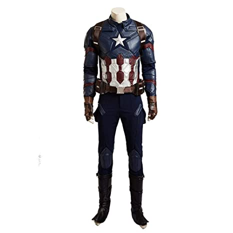 Disfraces para Adultos, Capitán América 3 Cosplay Heroes ...