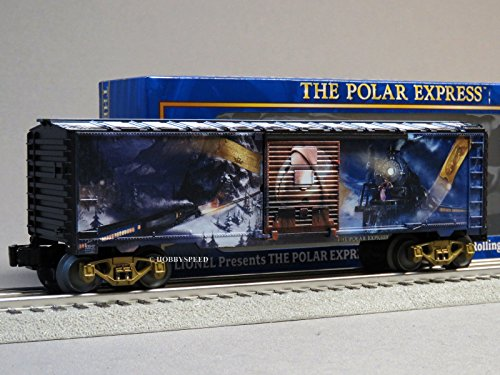 Freight Express Train (LIONEL POLAR EXPRESS BELL BOXCAR O GAUGE train movie art box 6-83647)