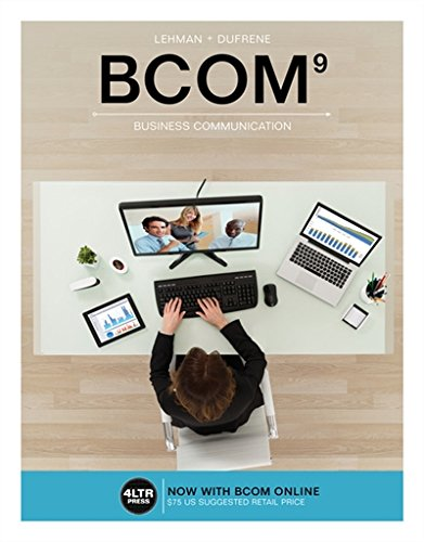 133711684X - BCOM (with BCOM Online, 1 term (6 months) Printed Access Card) (New, Engaging Titles from 4LTR Press)