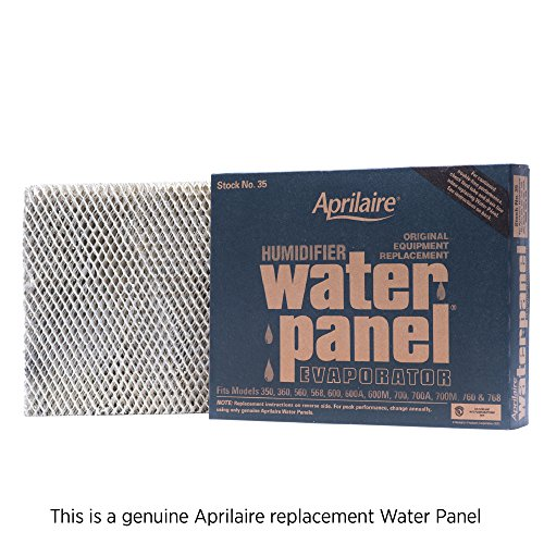 Aprilaire 35 Replacement Water Panel for Aprilaire Whole House Humidifier Models 350, 360, 560, 568, 600, 600A, 600M, 700, 700A, 700M, 760, 768 (Pack of 1) ()