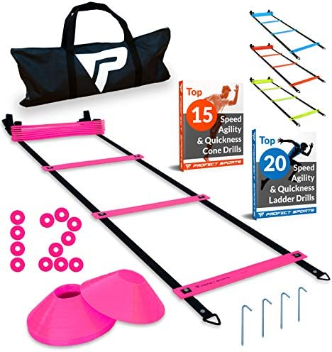 Pro Agility Ladder Cones Fixed Rung product image