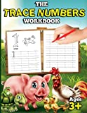 number tracing workbooks - The Trace Numbers Workbook: Number Tracing Book for Preschoolers with Lots of Number Writing Practice (Trace Numbers Ages 3-5) (Educational Activity Books for Kids) (Volume 2)