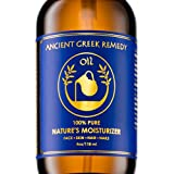 Ancient Greek Remedy Oil is made of 100% PURE Blend of Organic Sweet Almond, Cold pressed Olive, Lavender and Grapeseed oil with Vitamin E, VEGAN, GLUTEN and GMO FREE. Multi purpose moisturizer packed with hair skin and nails vitamins, promotes natur...