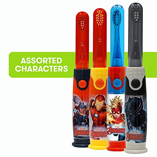 Firefly Light & Sound Kids Toothbrush - Avengers (Assorted), 1 Count (Kids Toothbrushes Marvel)