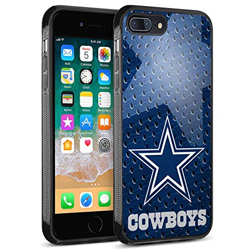 Cowboys iPhone 8 Plus Case, Cowboys iPhone 7 Plus Case Cover Personalized Slim Fit Shockproof Anti-Scratch Shell for iPhone 8 Plus/iPhone 7 Plus 5.5 inches