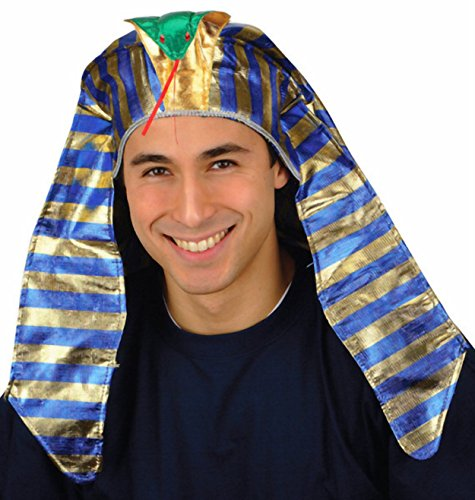 [Egyptian Pharaoh Costume Headdress Hat] (Pharaoh Headdress)