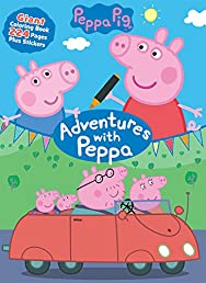 Peppa Pig Adventures with Peppa (Giant Coloring Book)