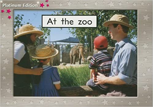 Rigby PM Platinum Collection at the Zoo Individual Student Edition Magenta Levels 1-2