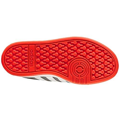 Adidas - Hoops Cmf C - AQ1656 - Farbe: Weiß-Grau-Orangefarbig - Größe: 28.0 cqehWyju