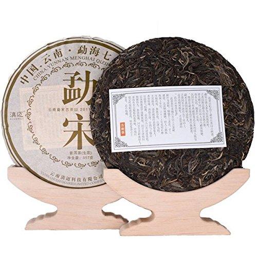 Dian Mai In 2011, the ancient Song Dynasty tree Pu'er tea whole raise 7 cakes 357 g / piece 2499G Kunming 6 years pure dried warehouse old tea 2011年勐宋古树普洱生茶整提7饼 357克/片2499G昆明6年纯干仓老茶