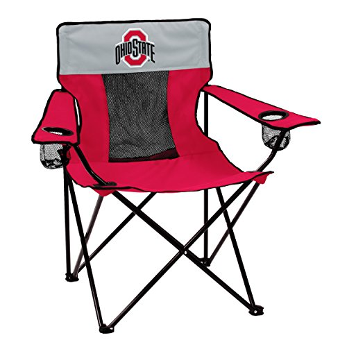(Logo Brands 191-12E Collegiate Ohio State Buckeyes Elite Chair, Red)
