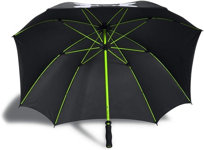 digerir Psicologicamente árabe  Under Armour Golf Umbrella, Black (001)/White, One Size: Amazon.fr: Sports  et Loisirs