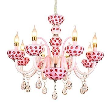 guyue Luxuriant Crystal Kids bebé lámparas de araña lámpara ...