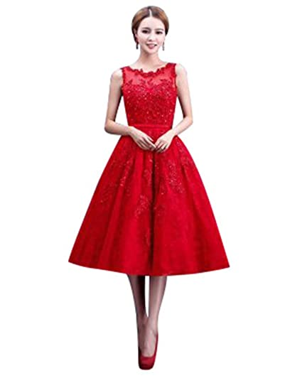 Red Empire Wedding Dress