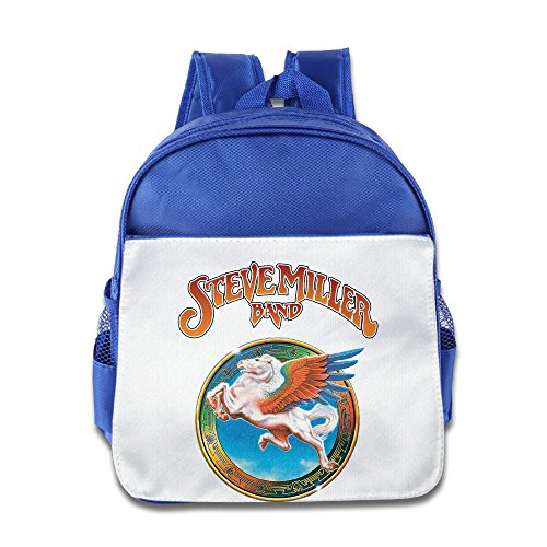 [Lovely Baby Steve Colorful Pegasus Rock Band Boys And Girls RoyalBlue Schoolbag For 1-6 Years Old] (Baby Megamind Costume)