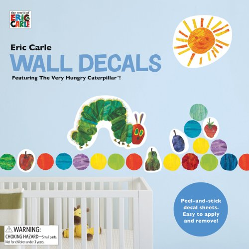 The World of Eric Carle(TM) Eric Carle Wall Decals Chronicle Books 9780811877480 Amazon Books