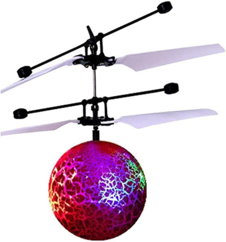 Beautytop - Bola, helicóptero, dron de juguete, vuela por radio ...