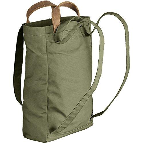 Fjällräven Totepack No.1 S, Zaino Unisex Adulto verde