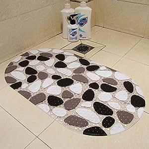 sweetdecor Fácil piedras antibacteriana PVC baño Alfombrilla Antideslizante antirutschpad Ideal para el baño tamaño: 60* 39cm