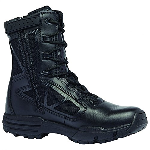 Tactical Research Belleville 918Z Chrome Side Zip Hot Weather Black Boot 10 5W