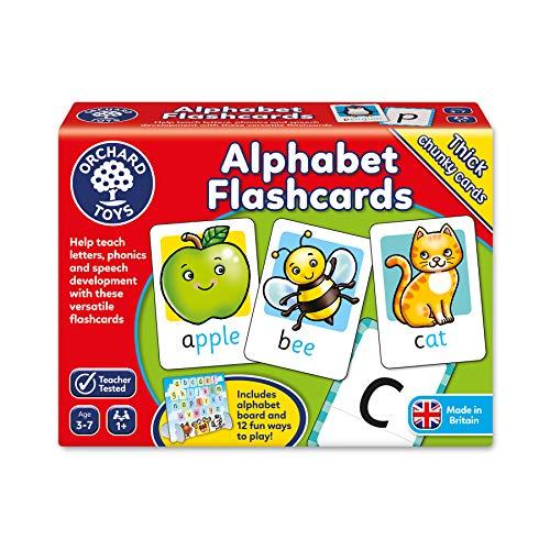 Italian Alphabet Language (Orchard Toys Alphabet Flashcards Children's Game, Multi, One Size)