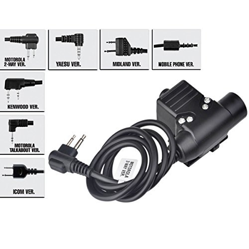 ZTactical NEXUS U94 type PTT Mike switch ICOM For for sale  Delivered anywhere in USA