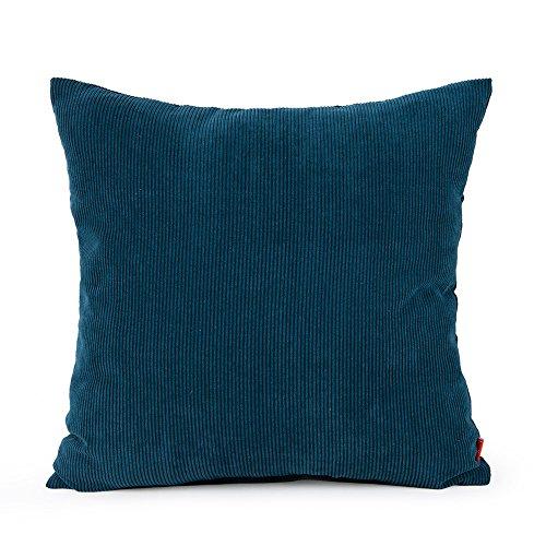 baibu Corduroy Decor Solid Throw Pillow  - Fabric Square Sofa Shopping Results
