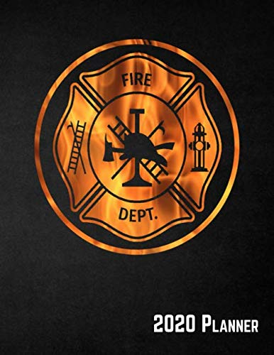 2020 Planner: Firefighter Daily, Weekly & Monthly View, 12 Month Calendar Schedule Organizer ()