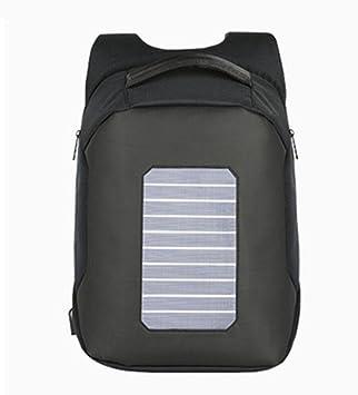 WYXIN Mochilas antirrobo de los hombres de la moda de la carga solar del diseño del ...
