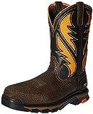 Ariat Work Men's Intrepid Venttek Composite Toe Work Boot, Cocoa Brown Orange, 12 2E US