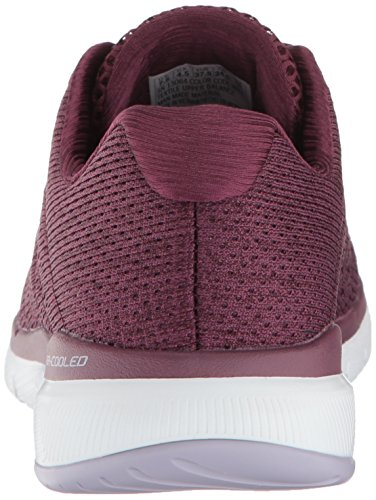 3 Red Indoor satellites Appeal 0 Skechers Flex Scarpe Sportive Donna fxpznBq