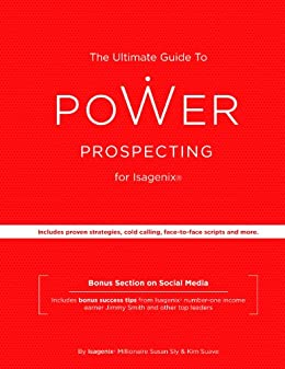 Amazon the ultimate guide to power prospecting for isagenix the ultimate guide to power prospecting for isagenix by sly susan suave fandeluxe Choice Image