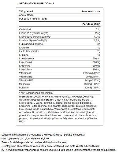 Yamamoto Nutrition Glycobol Performance, Grapefruit Rosa - 700 gr: Amazon.es: Salud y cuidado personal