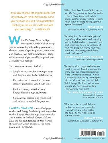 The Energy Medicine Yoga Prescription: Amazon.es: Lauren ...