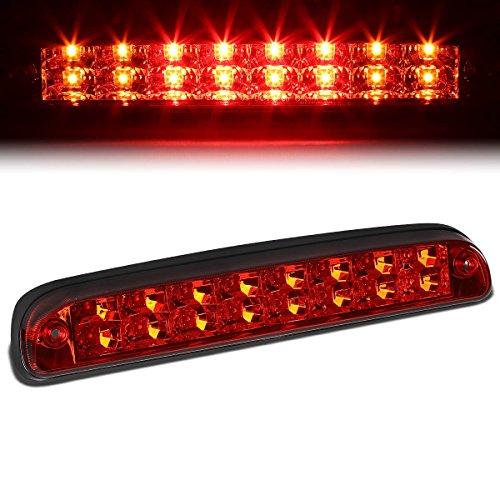 For Ford Super Duty/Ranger/Mazda B-Series High Mount Dual Row LED 3rd Brake/Cargo Light (Red Lens)
