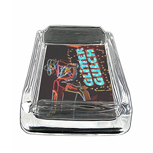 glass ashtray vintage - 9