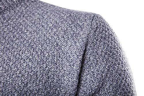 Redondo Cuello Hombres Punto Hellgrau Suéter Jerseys Pullover Betrothales Sweater xIg0vtq
