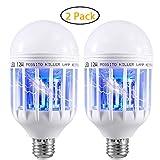 Best Bug Zapper Bulbs - Gogogu 2 Pack Bug Zapper Light Bulbs, 2-in-1 Review