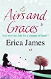 Airs & Graces by Erica James front cover