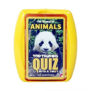 Top Trumps World of Animals Quiz Game