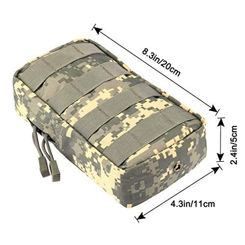 Pocket Hiking Military Phone Pouch Molle Camp Belt 2x ACU Bags Waist AwSI0qxBA